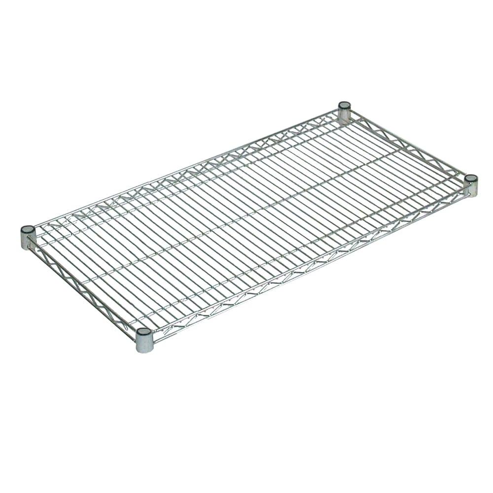 """John Boos CS-2472 Chrome Wire Shelf - 72""""W x 24""""D"""