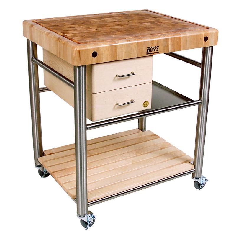 John boos cuct06 cucina toscano cart 24 in w x 30 in l x for 416 americana cuisine