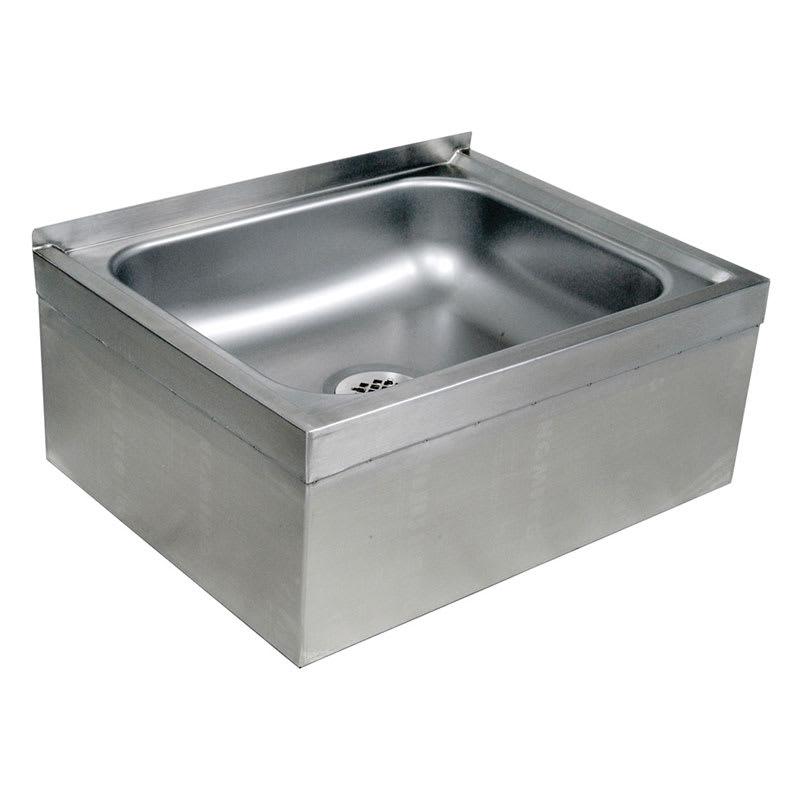 """John Boos EMS-2016-12 Floor Mount Mop Sink w/ 12""""D Bowl"""
