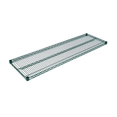 John Boos EPS-1430-G Epoxy Coated Wire Shelf - 14x30""