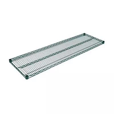 "John Boos EPS-1442-G Epoxy Coated Wire Shelf - 14x42"""