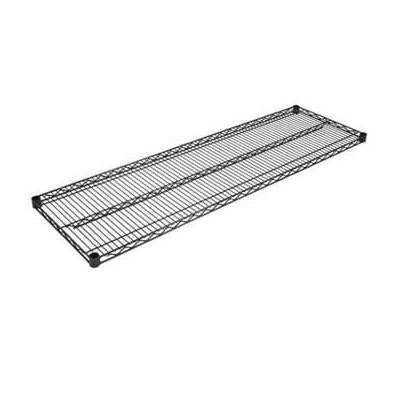 "John Boos EPS-1454-BK Epoxy Coated Wire Shelf - 54""W x 14""D"