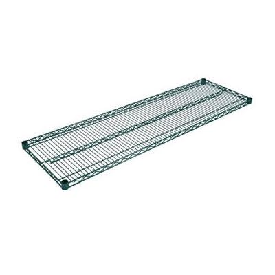 """John Boos EPS-1472-G Epoxy Coated Wire Shelf - 72""""W x 14""""D"""