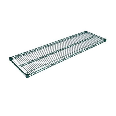 "John Boos EPS-1824-G Epoxy Coated Wire Shelf - 24""W x 18""D"