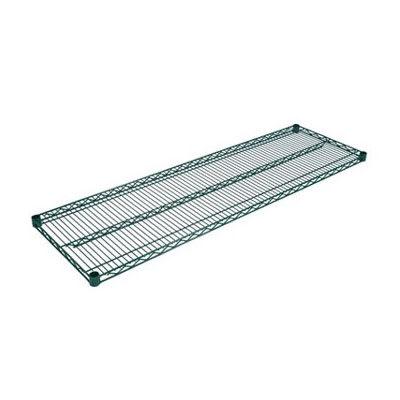 """John Boos EPS-1848-G Epoxy Coated Wire Shelf - 48""""W x 18""""D"""