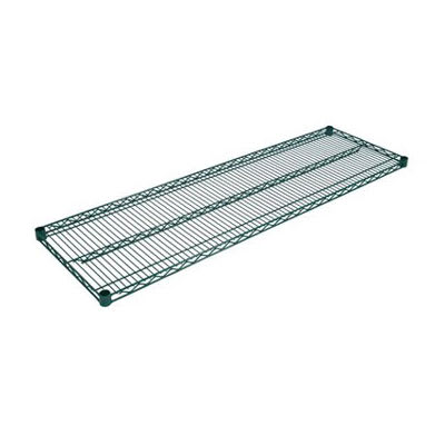 "John Boos EPS-2448-G Epoxy Coated Wire Shelf - 24""W x 24""D"