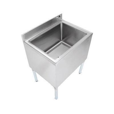 "John Boos EUBIB-4821CP10 Underbar Ice Bin - 10-Circuit Cold Plate, Insulated, 48x21x30"", 18-ga Stainless"