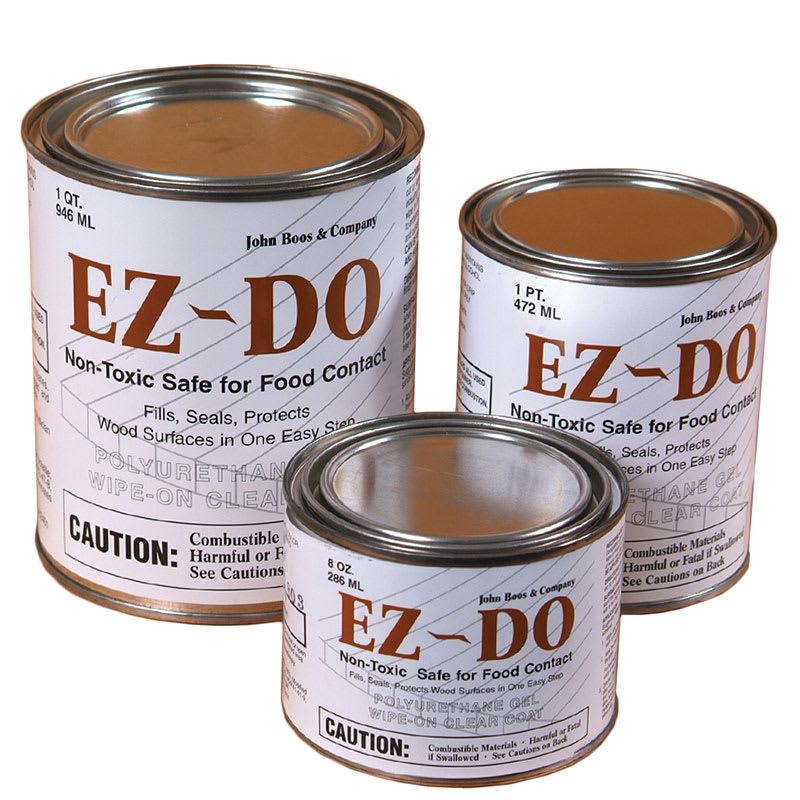 John Boos EZ-32C 1-qt Polyurethane Gel, Non-Toxic, Seals & Protects