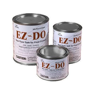 John Boos EZ-8C 1/2-pint Polyurethane Gel, Non-Toxic, Seals & Protects
