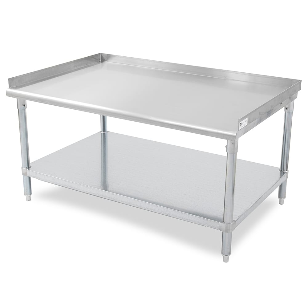 """John Boos GS6-3024GSK 24"""" x 30"""" Stationary Equipment Stand for General Use, Undershelf"""