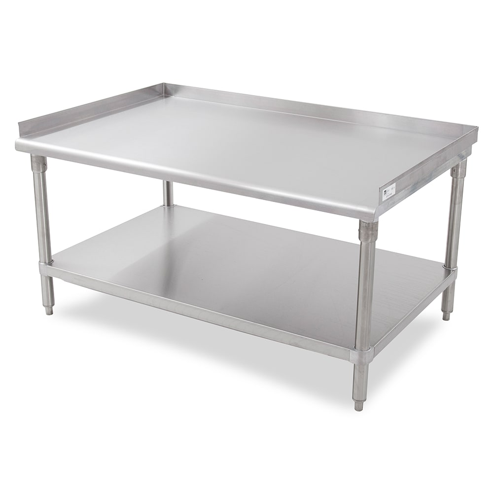 John Boos GS6-3072SSK Equipment Stand w/ Stainless Top & Undershelf, 72 x 30""