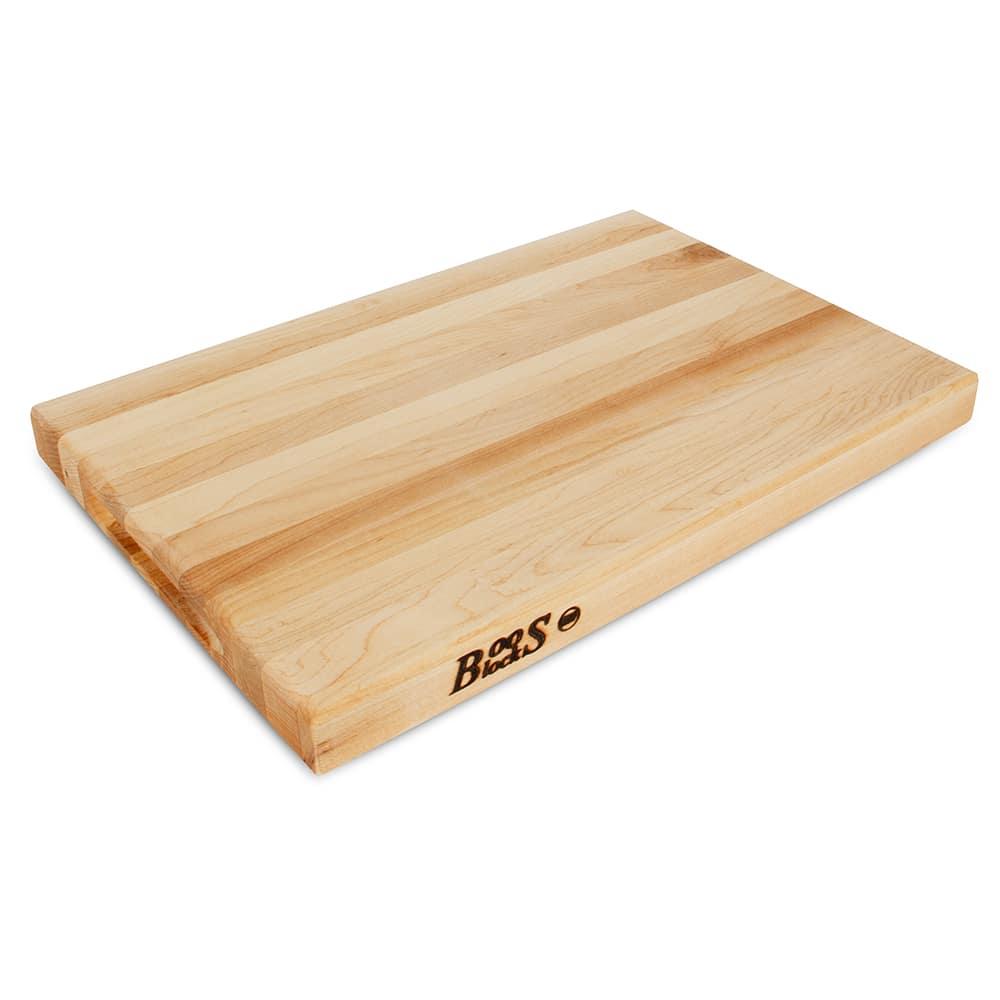 "John Boos R01 Reversible Cutting Board, 12x18x1.5"", Hard Rock Maple"