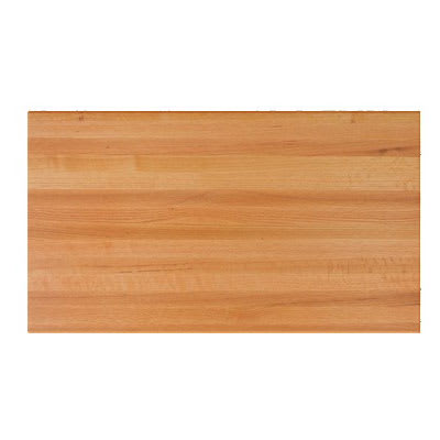 "John Boos RTO-2430 1.5"" Red Oak Butcher Block Table Top - 30""L x 24""D"