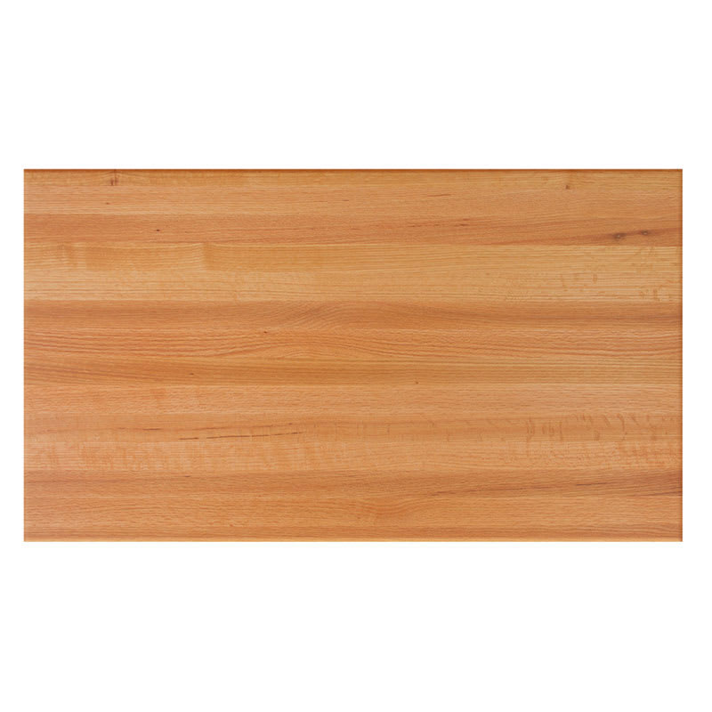 John Boos RTO Red Oak Butcher Block Table Top L X D - Red oak table top