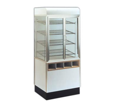 "Spartan Showcase 99370-31 31"" Self-Service Pastry Merchandiser w/ Self-Closing Hinged Doors"