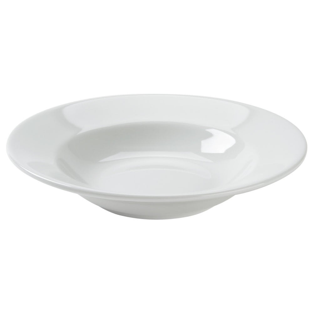 Tuxton ALD-090 9.5 oz Alaska Soup Bowl - Ceramic, Porcelain White