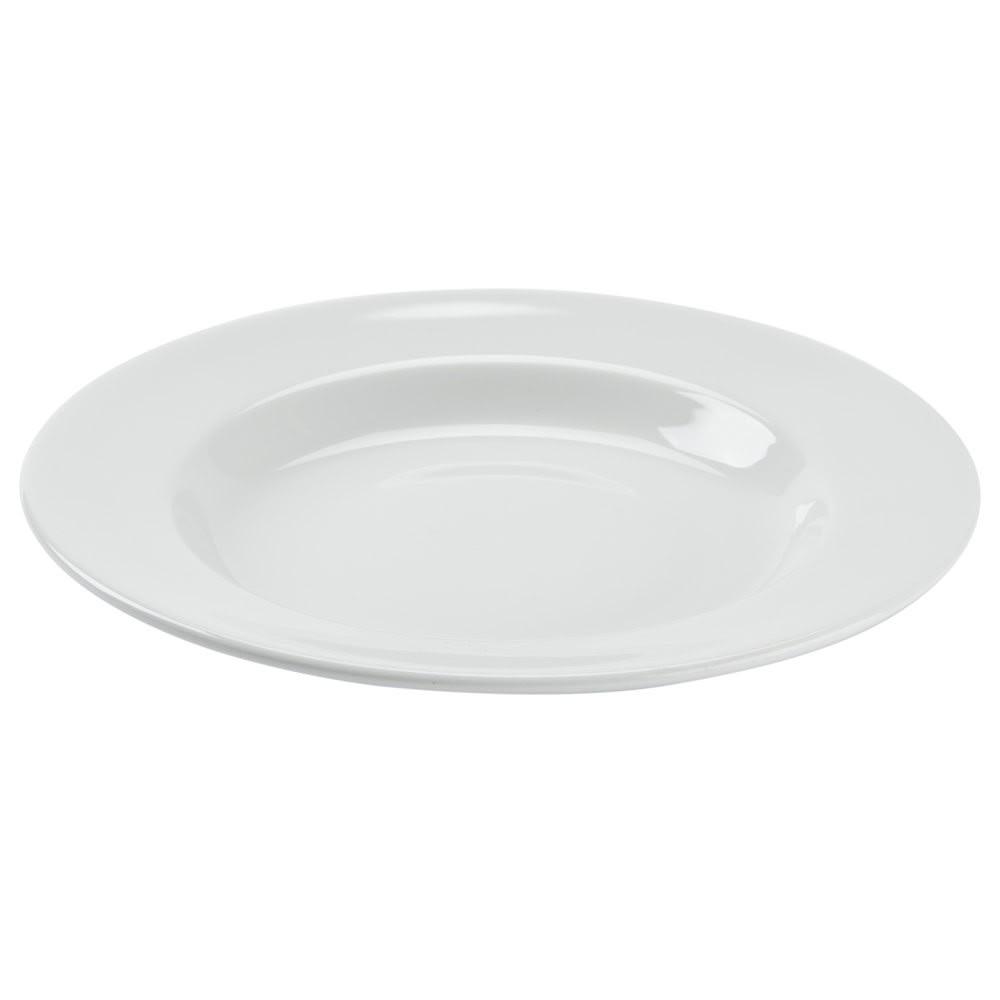 Tuxton ALD-112 15.5 oz Alaska Pasta Bowl - Ceramic, Porcelain White