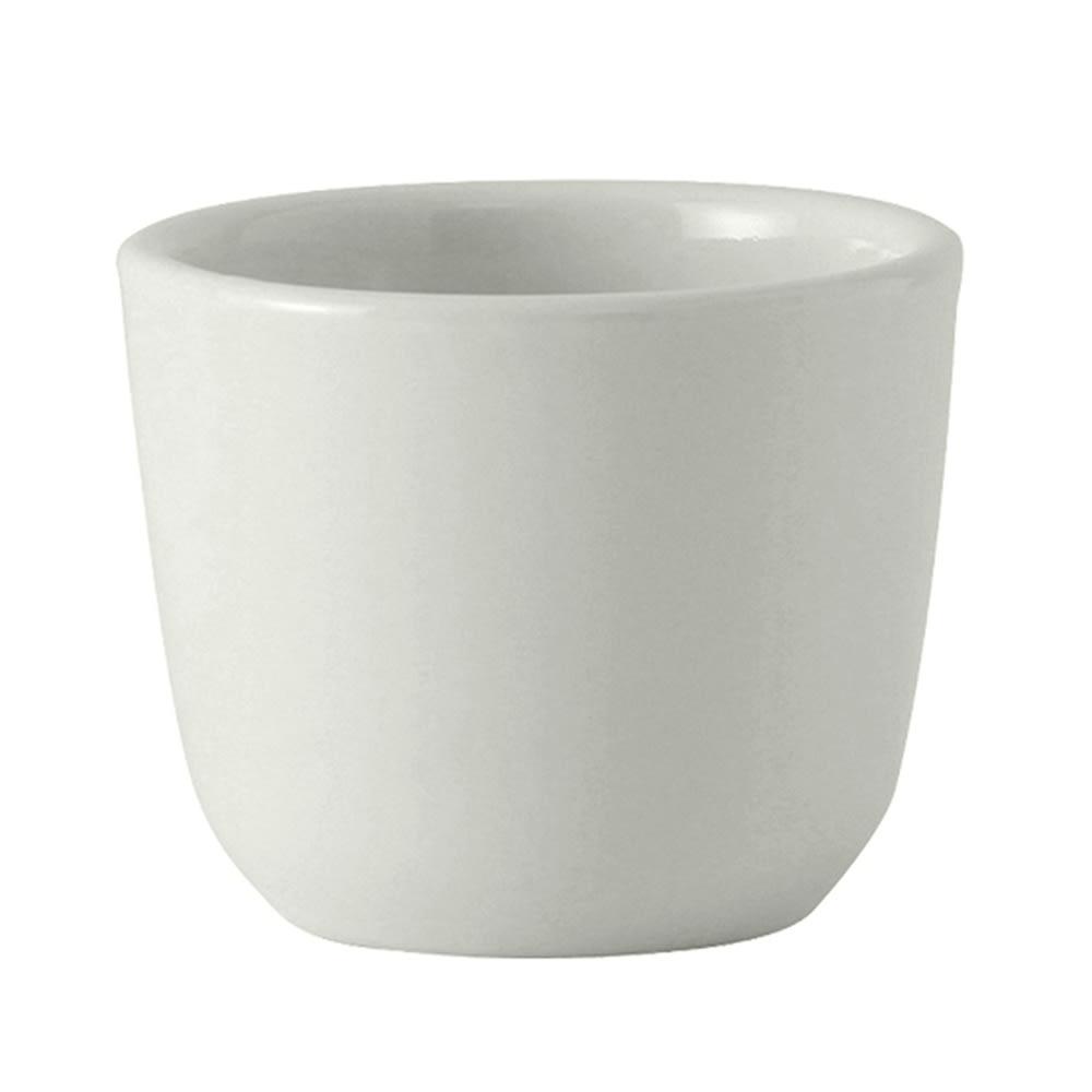 Tuxton ALF-0455 4.5 oz Chinese Tea Cup - Ceramic, Porcelain White