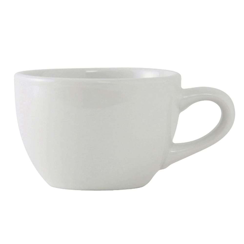 Tuxton ALF-0752 8 oz Alaska/Colorado Cup - Ceramic, Porcelain White