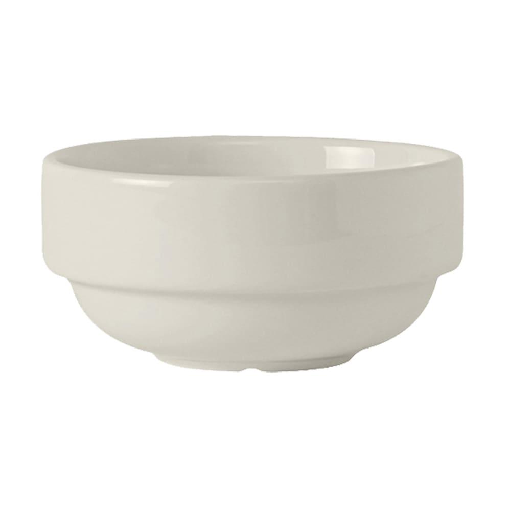 Tuxton AMU-043 10.5 oz Soup Cup - Ceramic, Pearl White