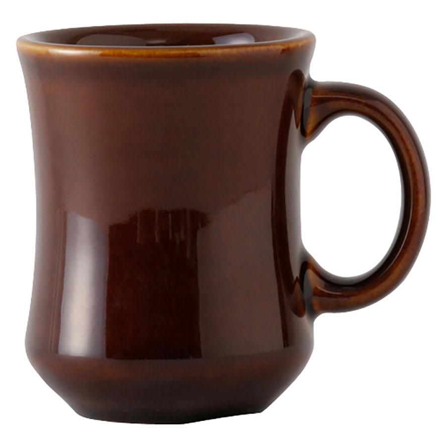 Tuxton BAM-0806 Princess Mug, 8 oz., 3-1/8in, Caramel