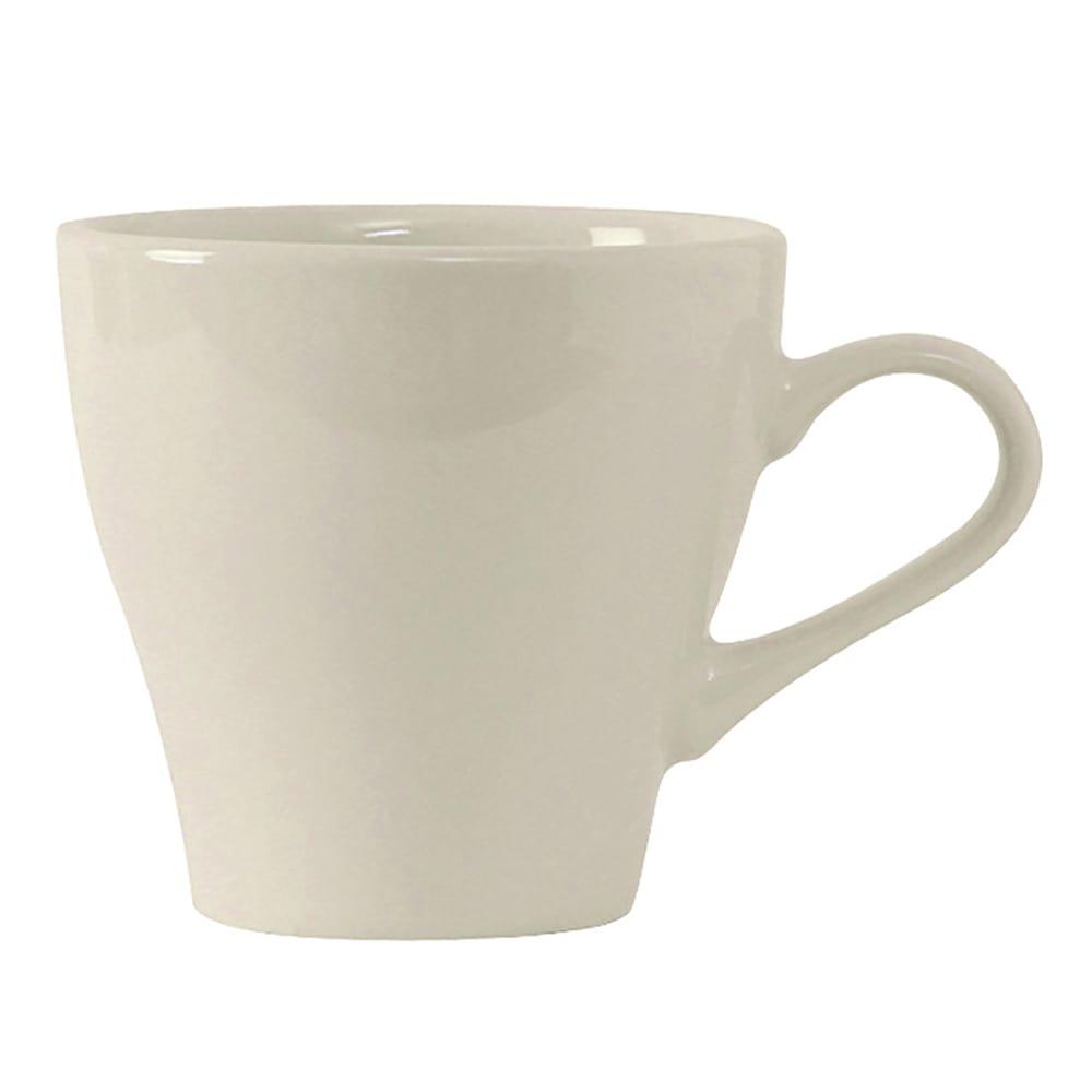 Tuxton BEF-1208 12 oz Europa Cappuccino Cup - Ceramic, American White