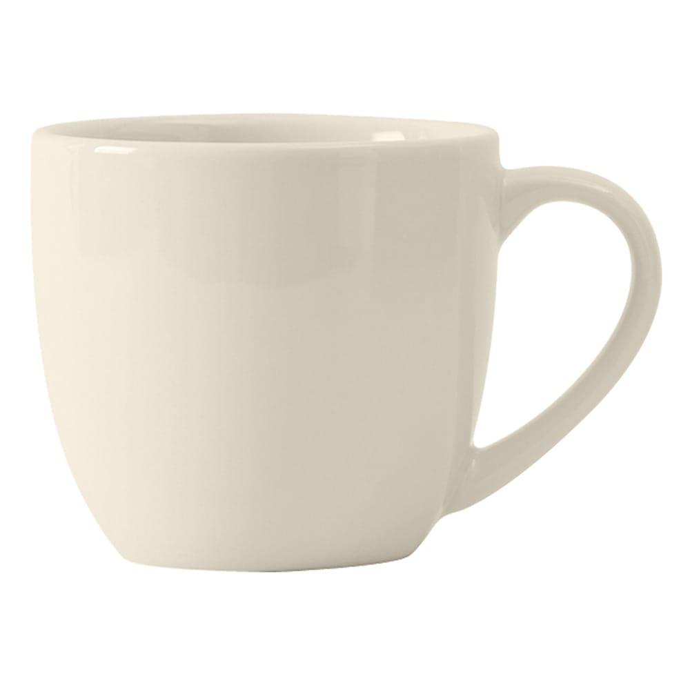 Tuxton BEM-120A 12 oz Milano Mug - Ceramic, American White