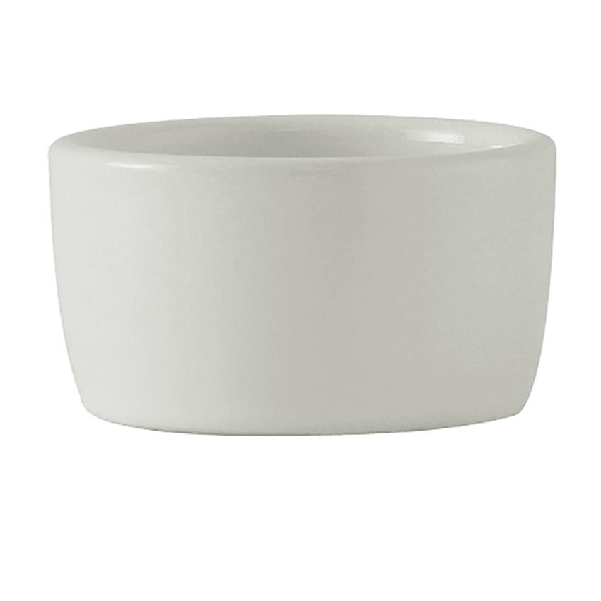 Tuxton BPX-0203 2 oz Pipkin Ramekin - Ceramic, Porcelain White