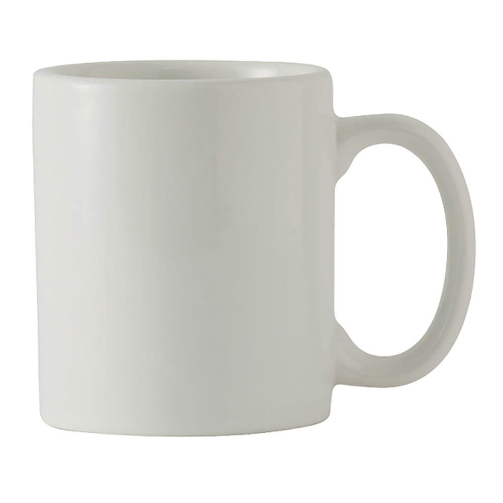 Tuxton BWM-1202 12 oz Mug - Ceramic, White