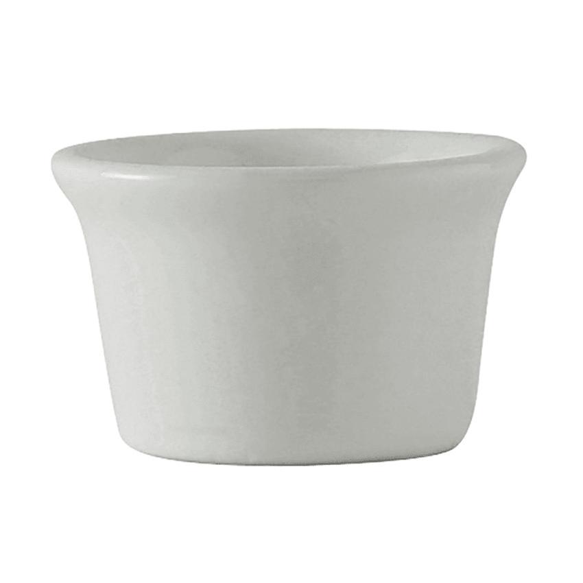Tuxton BWX-015 1.5 oz Ramekin - Ceramic, White