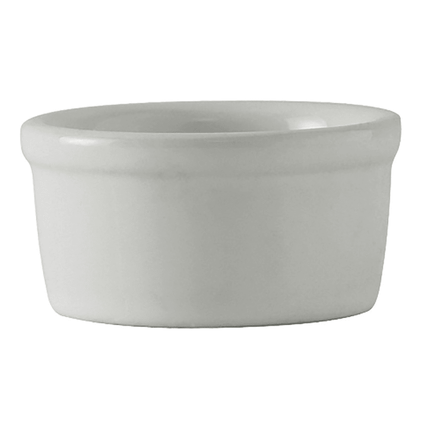 Tuxton BWX-025 2.5 oz Ramekin - Ceramic, White