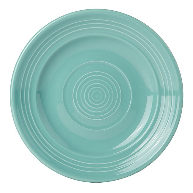"Tuxton CIA-062 6-1/4"" Round Plate - China, Island Blue"