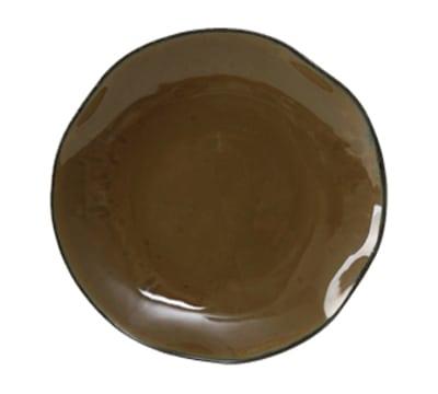 """Tuxton GAJ-008 11-5/8"""" Round Ceramic Plate - Mojave"""
