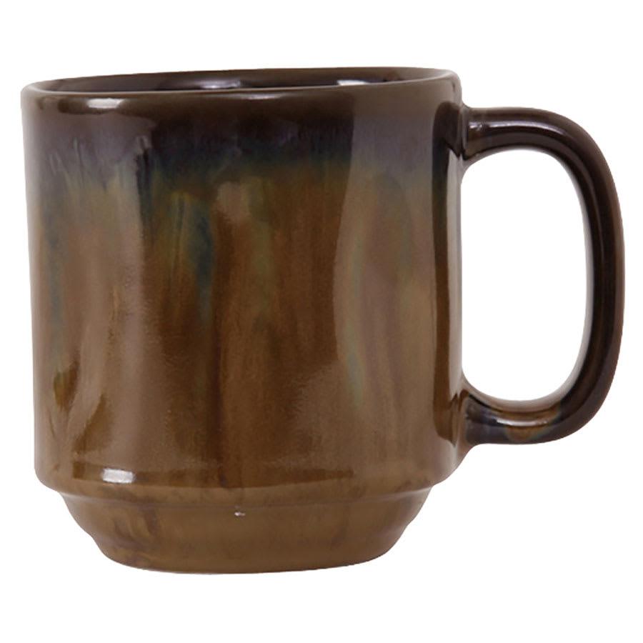 Tuxton GAJ-150 12 oz Ceramic Yukon Mug - Mojave