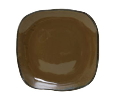 "Tuxton GAJ-501 9"" Square Ceramic Plate - Mojave"