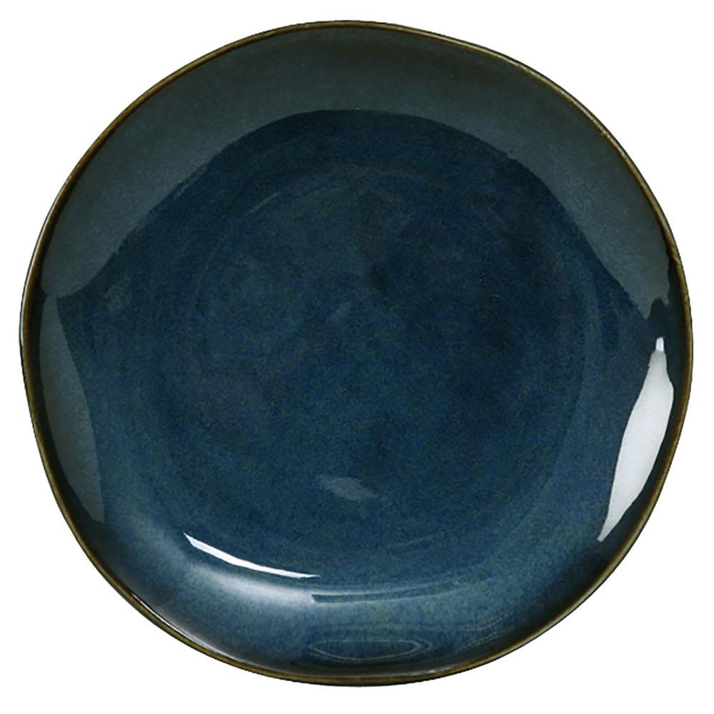 """Tuxton GAN-002 6-1/2"""" Round Ceramic Plate - Night Sky"""