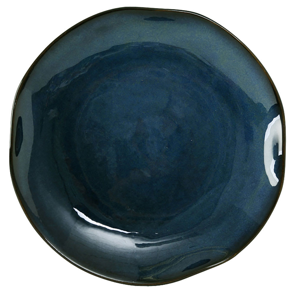 "Tuxton GAN-006 10-1/4"" Round Ceramic Plate - Night Sky"