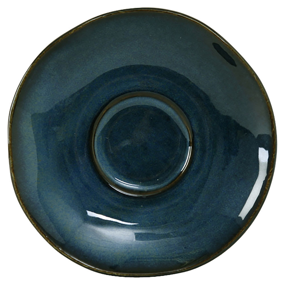 "Tuxton GAN-084 6-3/8"" Ceramic Saucer - Night Sky"