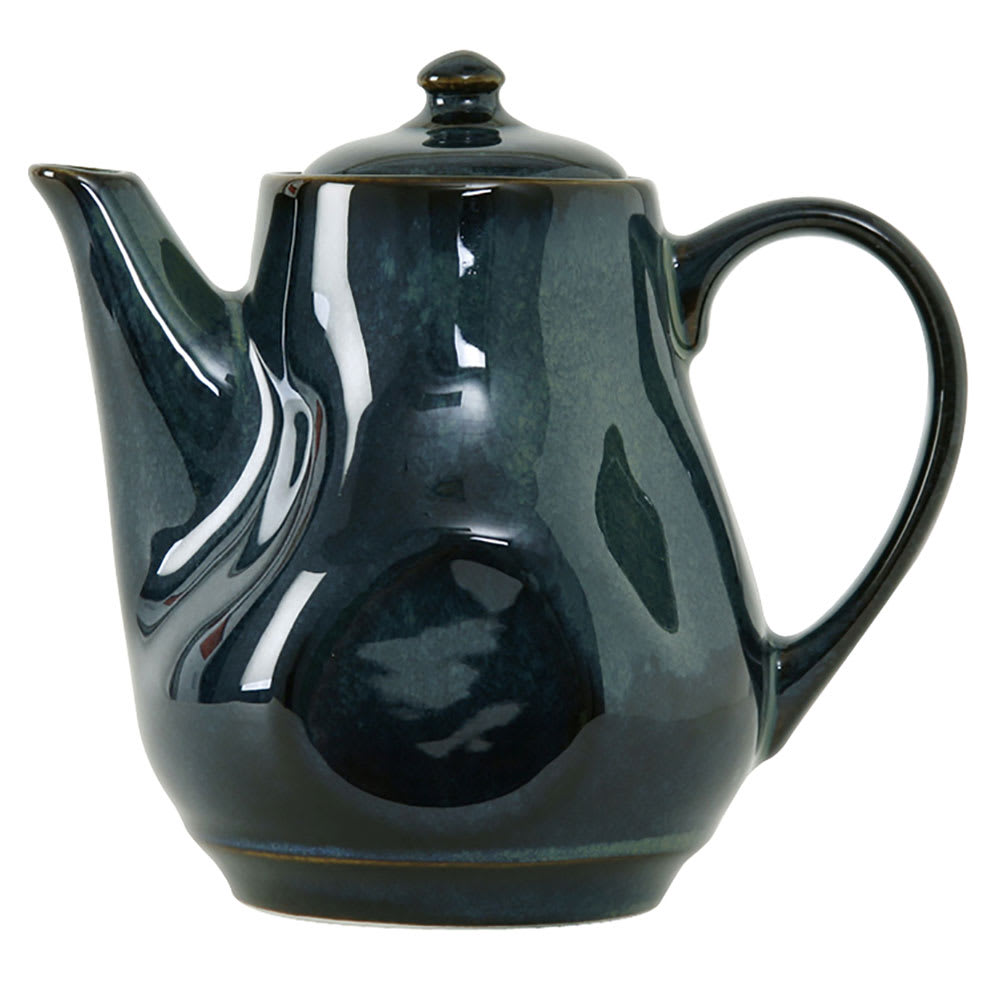 Tuxton GAN-101 17-oz Ceramic Teapot with Lid - Night Sky