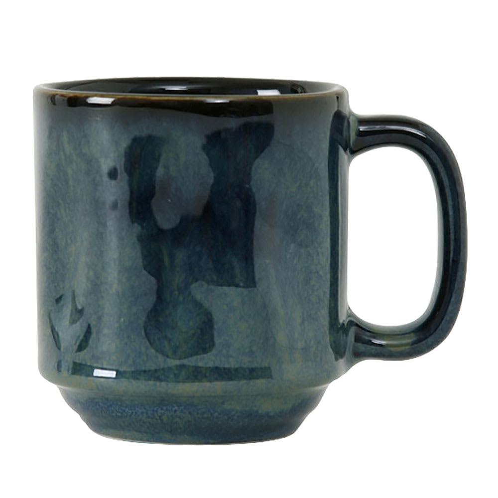 Tuxton GAN-150 12 oz Ceramic Yukon Mug - Night Sky