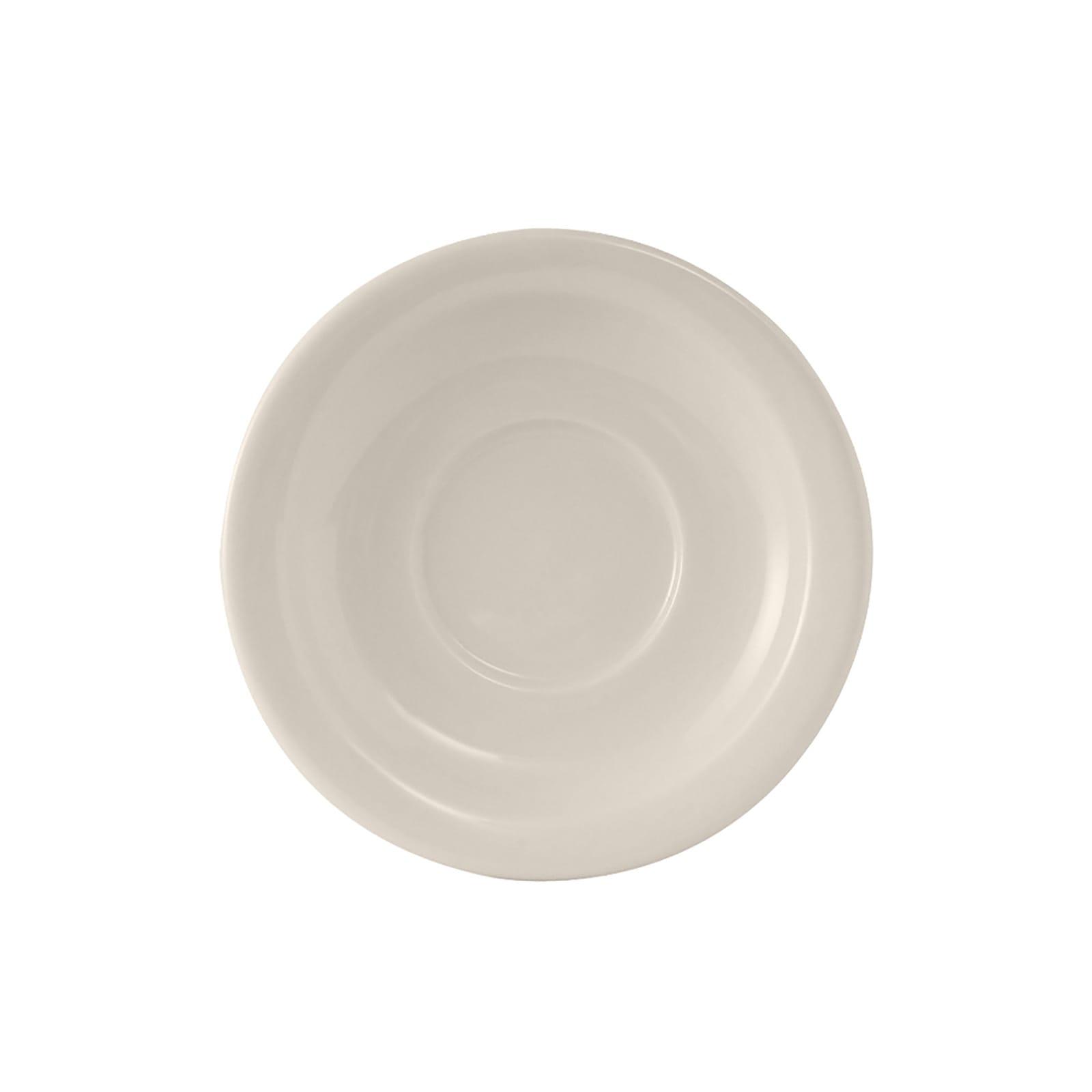 "Tuxton TNR-002 5.5"" Round Nevada Saucer - Ceramic, American White"