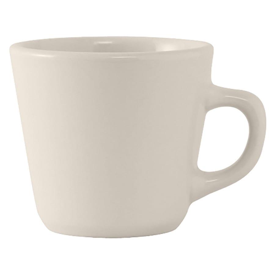 Tuxton TRE-001 7 oz Reno/Nevada Cup - Ceramic, American White