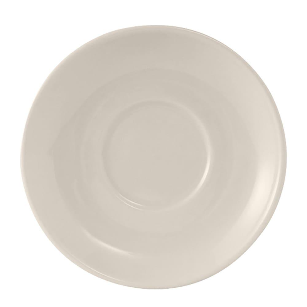 "Tuxton TRE-029 4.63"" Round Reno/Nevada Saucer - Ceramic, American White"
