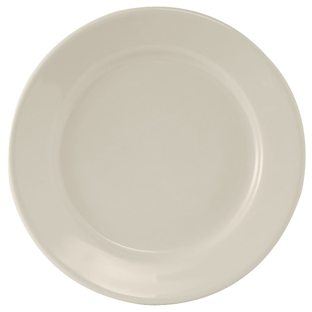 "Tuxton TRE-031 6.25"" Round Reno Plate - Ceramic, American White"