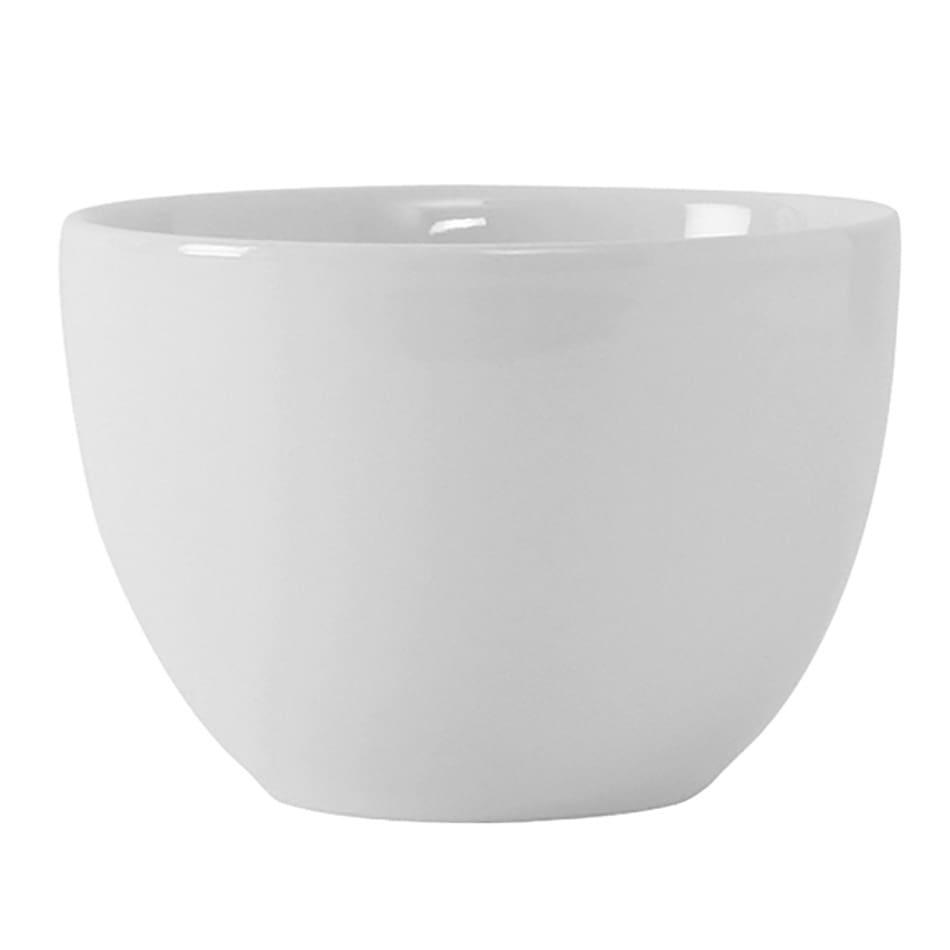 Tuxton VPB-120 12 oz Florence Bouillon Bowl - Ceramic, Porcelain White