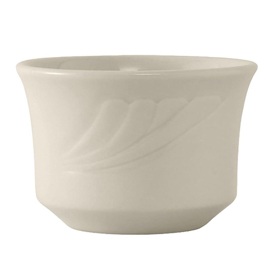 Tuxton YEB-0752 7 oz Monterey Bouillon Bowl - Ceramic, American White