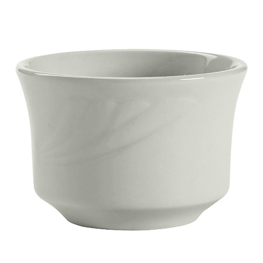 Tuxton YPB-0752 7 oz Sonoma Bouillon Bowl - Ceramic, Porcelain White