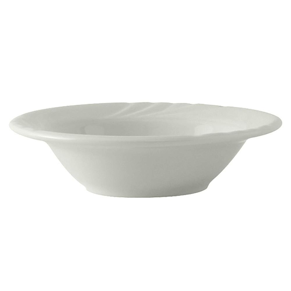 Tuxton YPD-063 6.5 oz Sonoma Grapefruit Bowl - Ceramic, Porcelain White