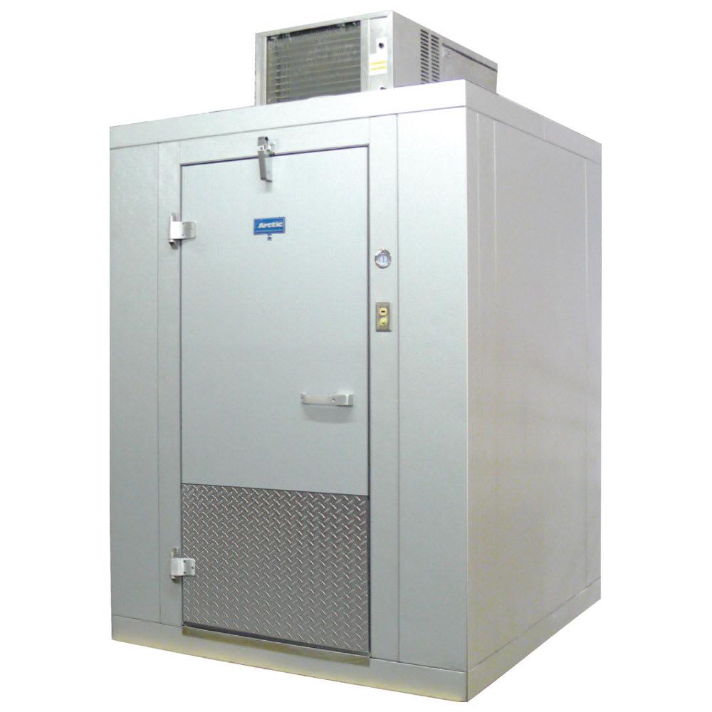 """Arctic BL68-CF-SC Indoor Walk-In Refrigerator w/ Top Mount Compressor, 5' 10"""" x 7' 10"""""""