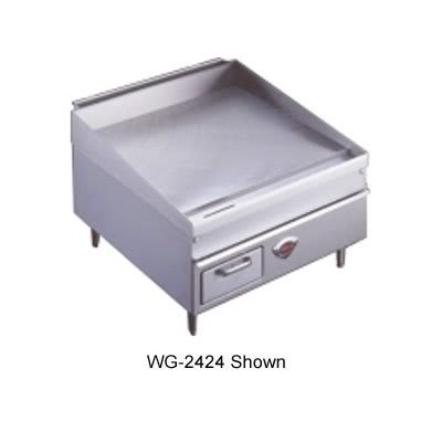 "Wells 3048G 48"" Gas Griddle - Thermostatic, 3/4"" Steel Plate, NG"